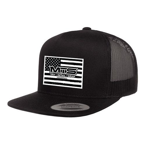 MTS Flag Black Trucker Hat