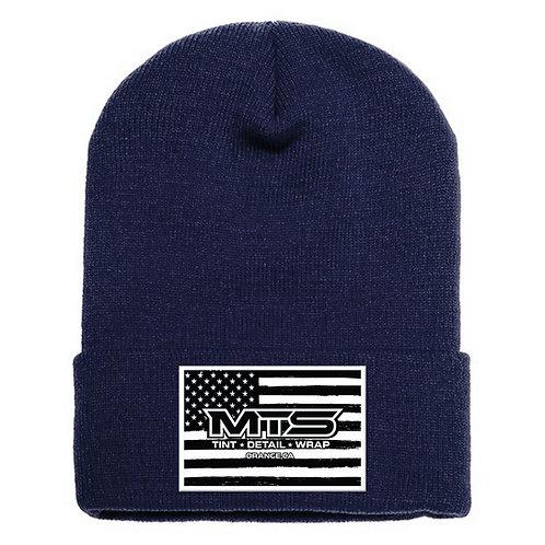 MTS Flag Navy Cuff Beanie
