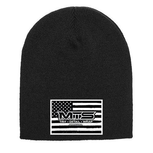 MTS Flag Black Beanie