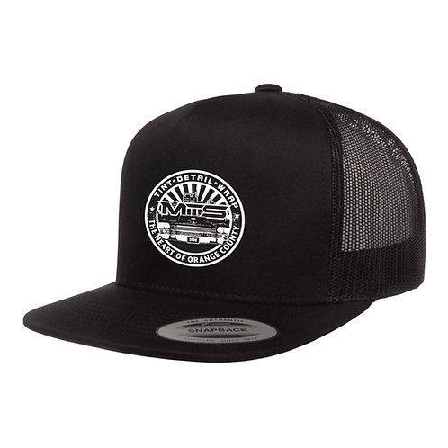 MTS Circle Black Trucker Hat