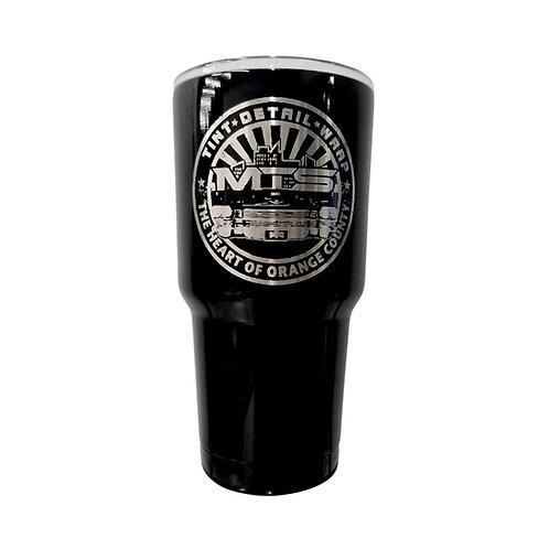MTS Circle Short Black Tumbler