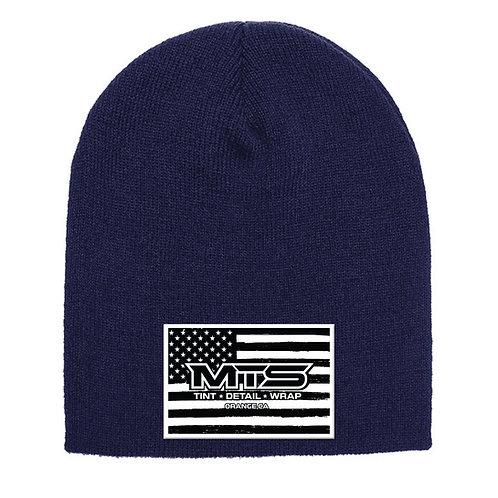 MTS Flag Navy Beanie