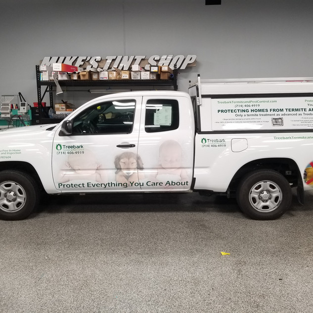 Tacoma Commercial Wrap