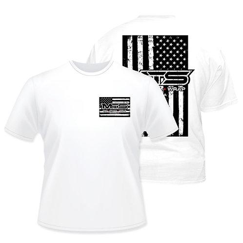 MTS White Flag T-Shirt
