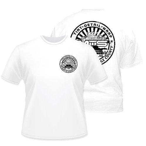 MTS White Circle T-Shirt