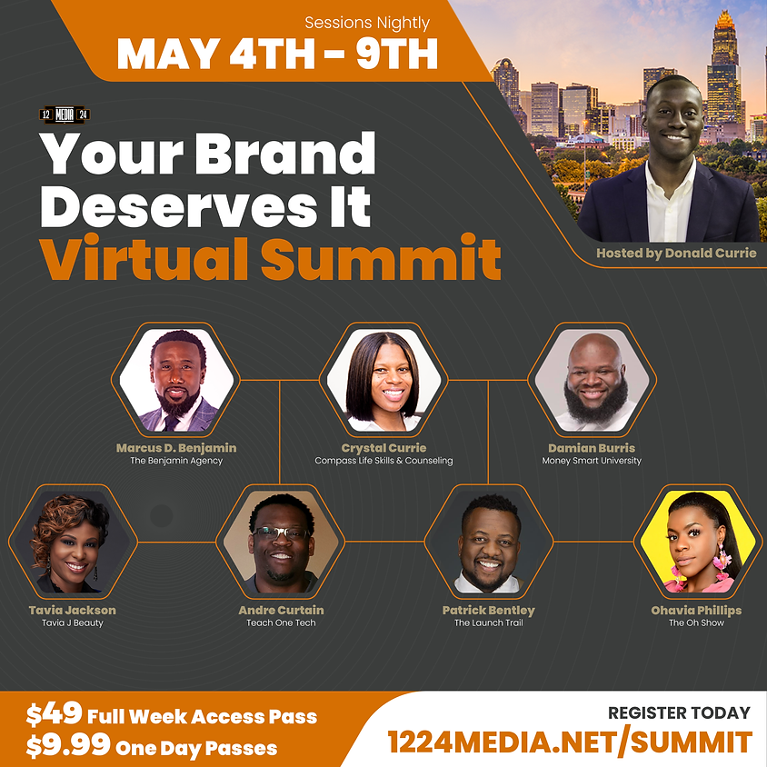 Full Week Pass: Your Brand Deserves It Virtual Summit