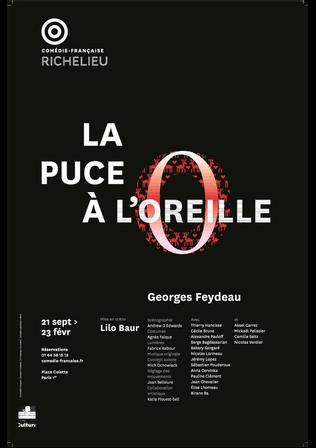 LA PUCE A L'OREILLE, de Feydeau