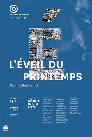 L'EVEIL DU PRINTEMPS, de Wedekind