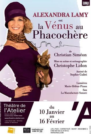 LA VENUS AU PHACOCHERE, de Christian Siméon