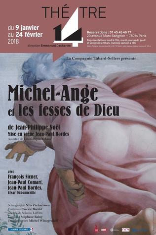 MICHEL-ANGE & LES FESSES DE DIEU, de Jean-Philippe NOEL