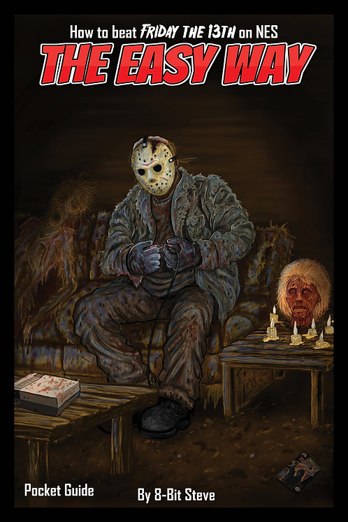 11x17  Gloss Print The Easy Way: Friday the 13th Pocket Guide (Full Cover)