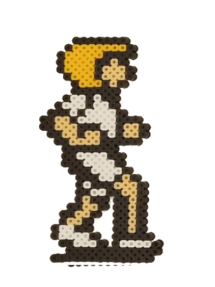 Mark (White) - Perler