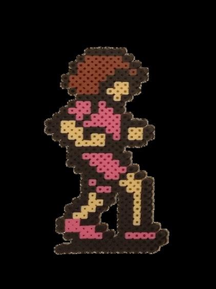 Debbie (Pink)- Perler