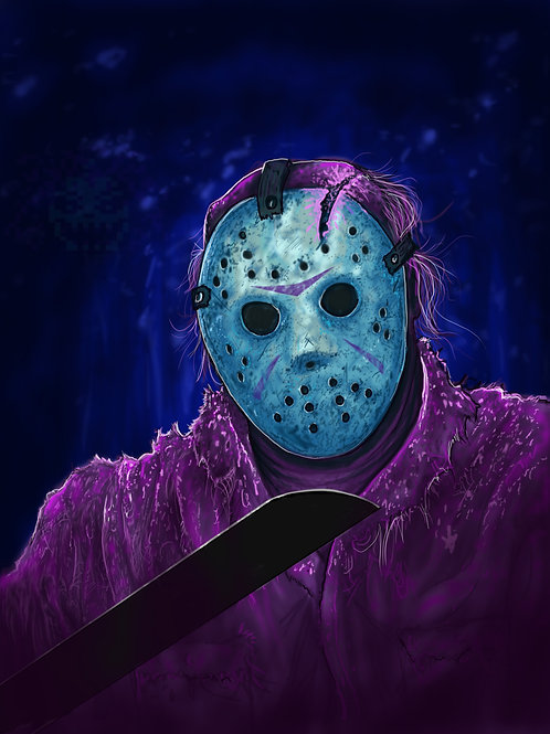 11x17  Gloss Print The Easy Way: Friday the 13th (Stripped Cover)