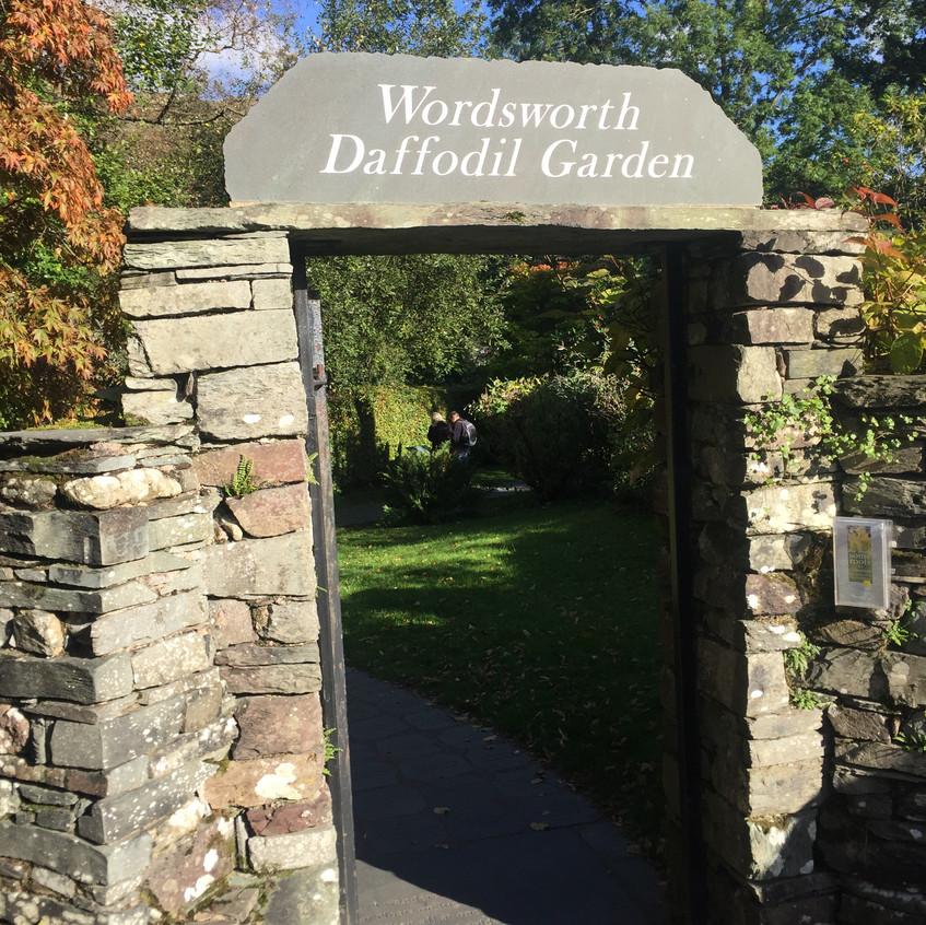 Wordsworth's garden