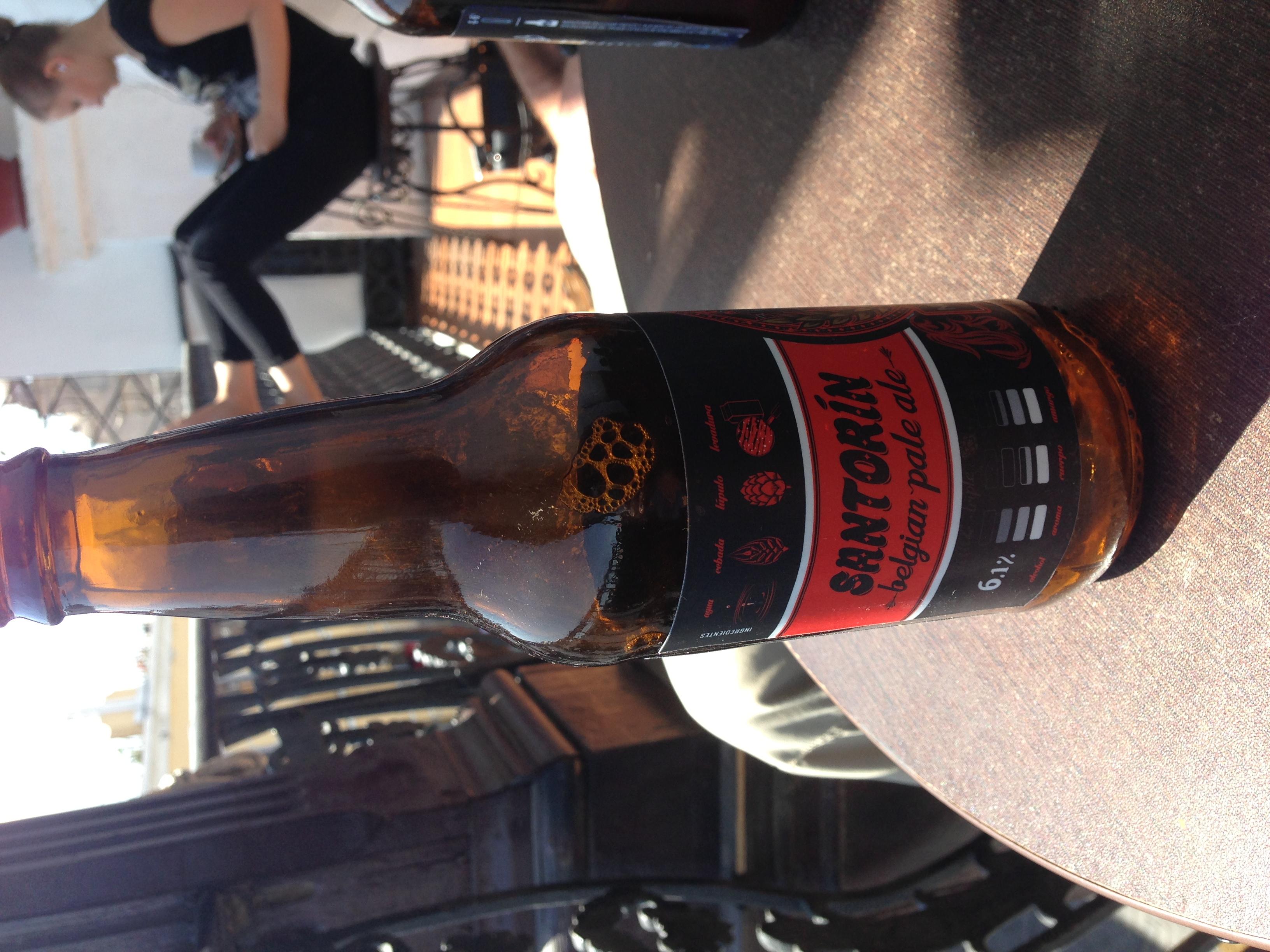 Santorin belgian pale ale