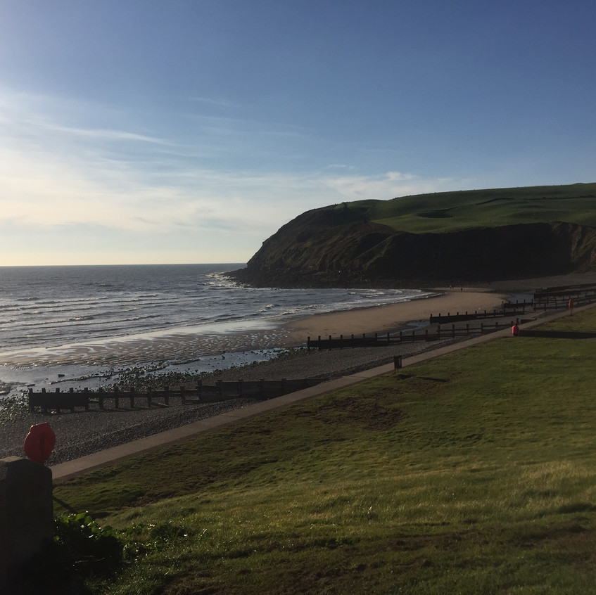 The beach at St Bees