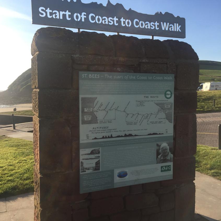 The start of the Coast 2 Coast