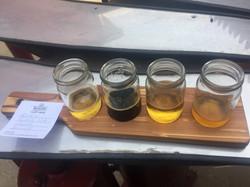 Taster at Rapscallion brewery