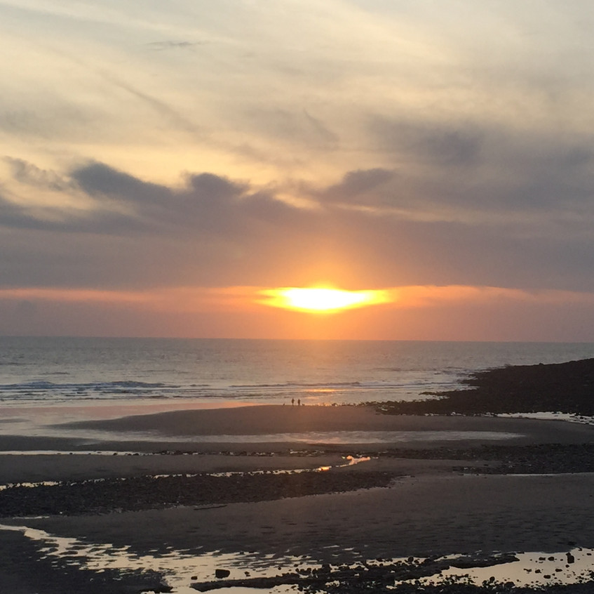 Sunset at St Bees