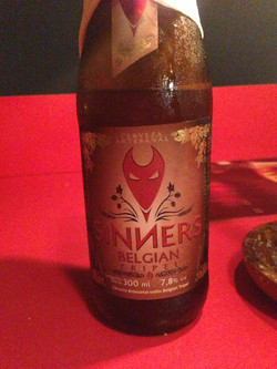 Sinners brewery pale ale