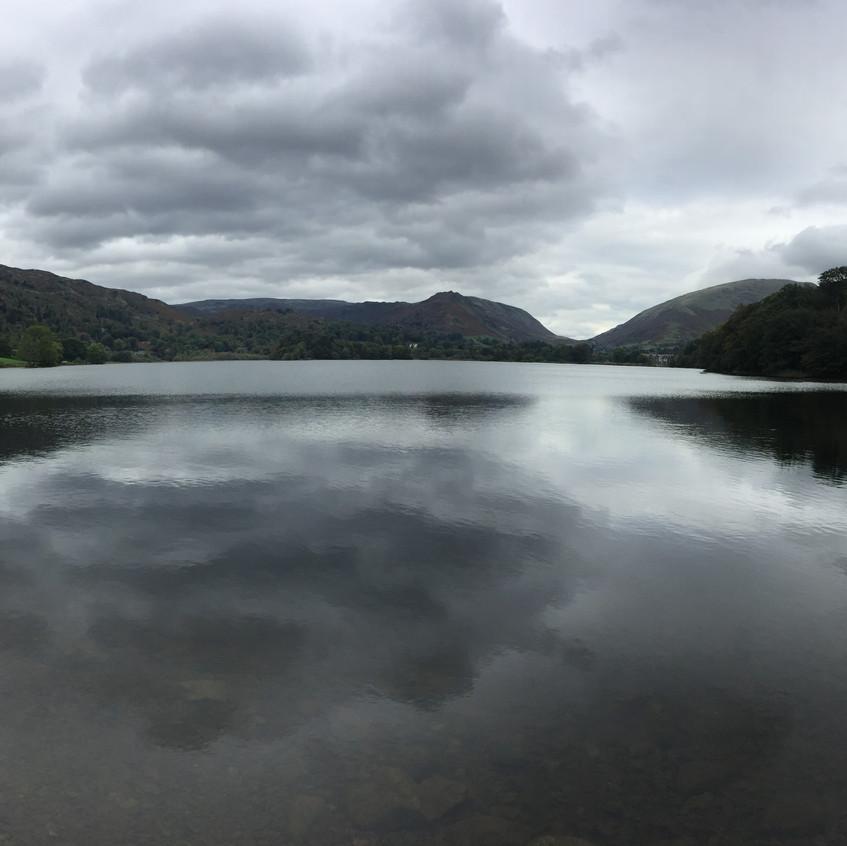 The lake at Grasmere