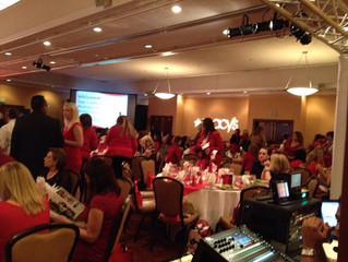 Go Red Event at the Hilton Double Tree Hotel