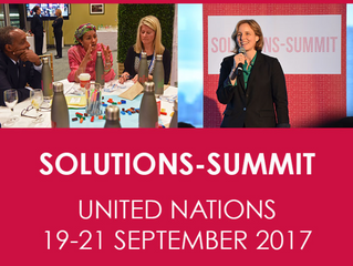 Judge @United Nations Solutions Summit