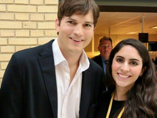 Ashton Kutcher in Denmark