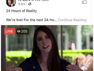 Voice of Mexico echoes in over half a billion households on Al Gore´s 24 Hrs of Reality show