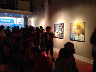 'Latination Seis' at the Metro Galleries, Bakersfield, California - Sept 2014