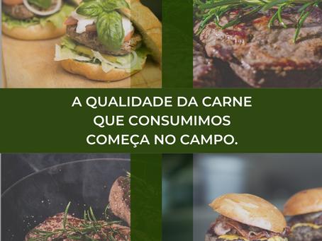 QUALIDADE DA CARNE COMEÇA NO  CAMPO