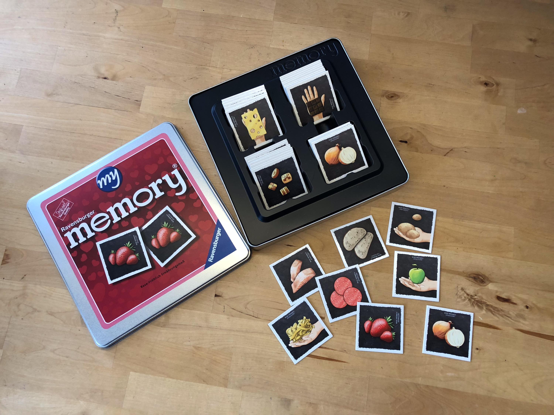 Memory Ernährungsspiel