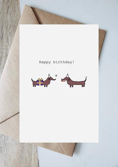 Digital birthday present