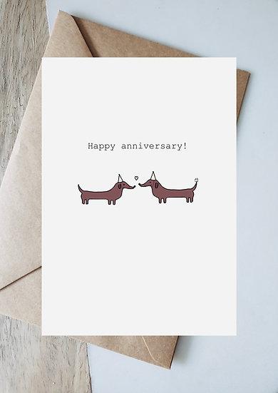 Digital happy anniversary