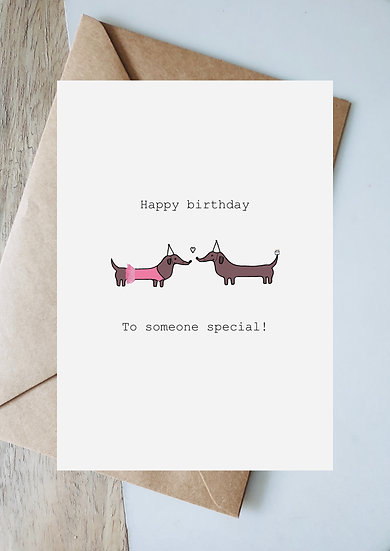 Ballerina birthday to someone special
