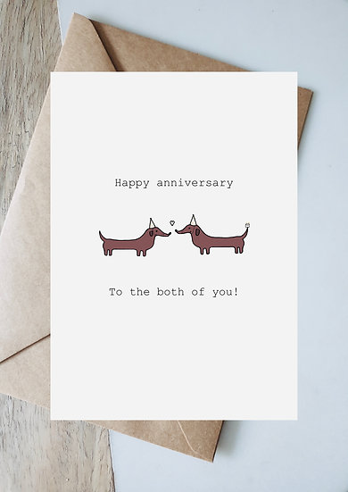 Digital anniversary to the both of you
