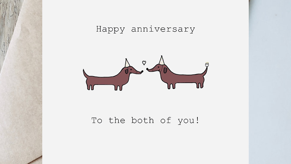 Anniversary to the both of you