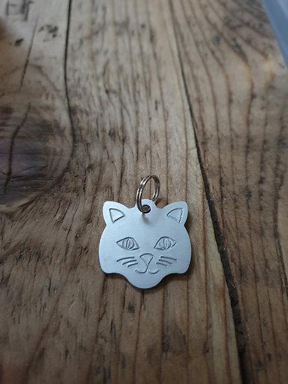 Small cat tag