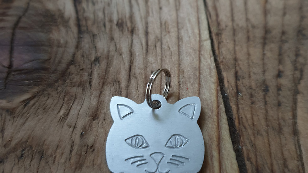 Small cat tag