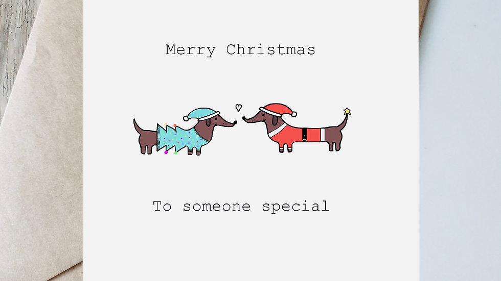 Merry Christmas to someone special