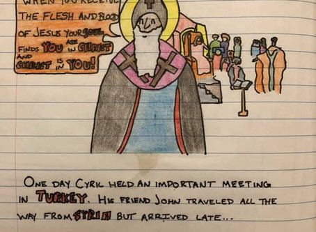 Bishop Cyril and the No Good, Very Bad Meeting