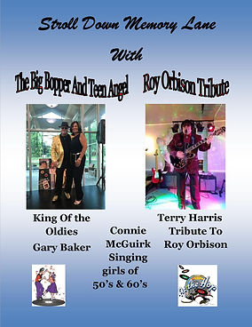 Bopper & Connie Terry Blue Post Card 201