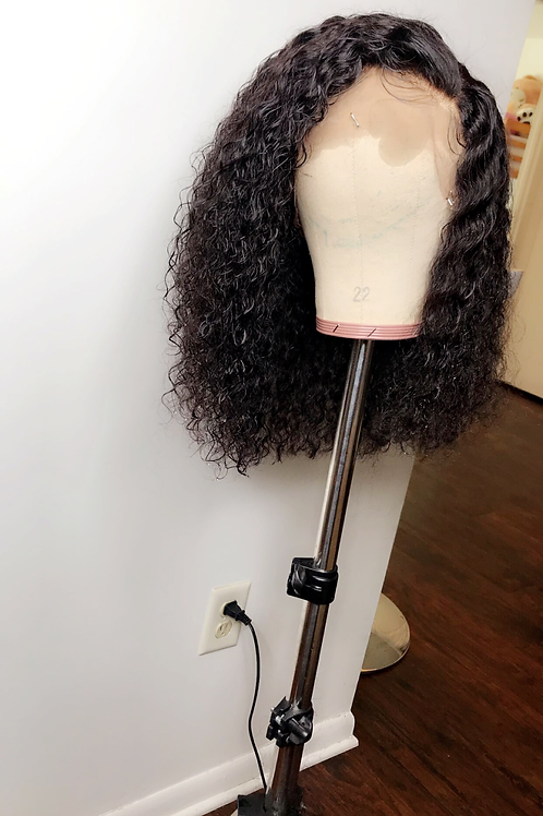 Full lace deepwave wig 14 inches