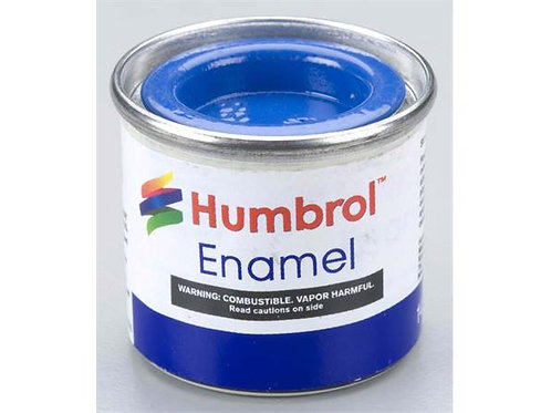 Humbrol no.014 French Blue blank