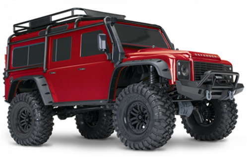 Traxxas TRX-4 Land Rover Defender Red 1/10 RTR