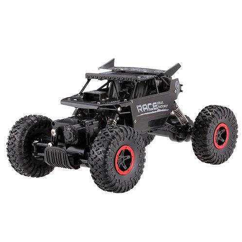 HB Rock Crawler 1:18 Black Metal - RTR