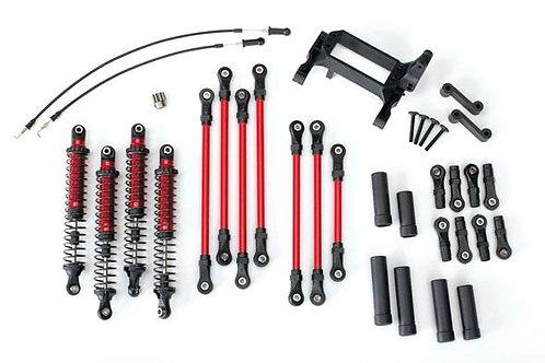 TRX-8140R Long Arm Lift Kit TRX-4 Red Complete