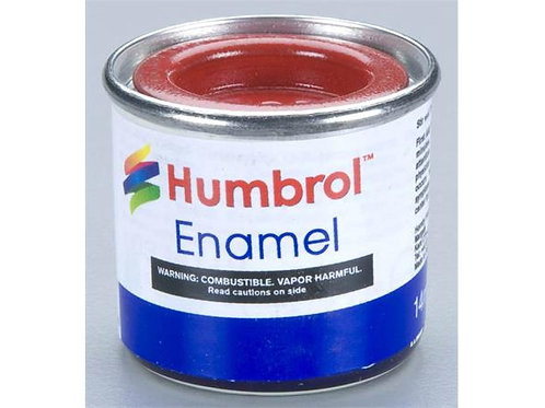Humbrol no.019 Bright Red blank