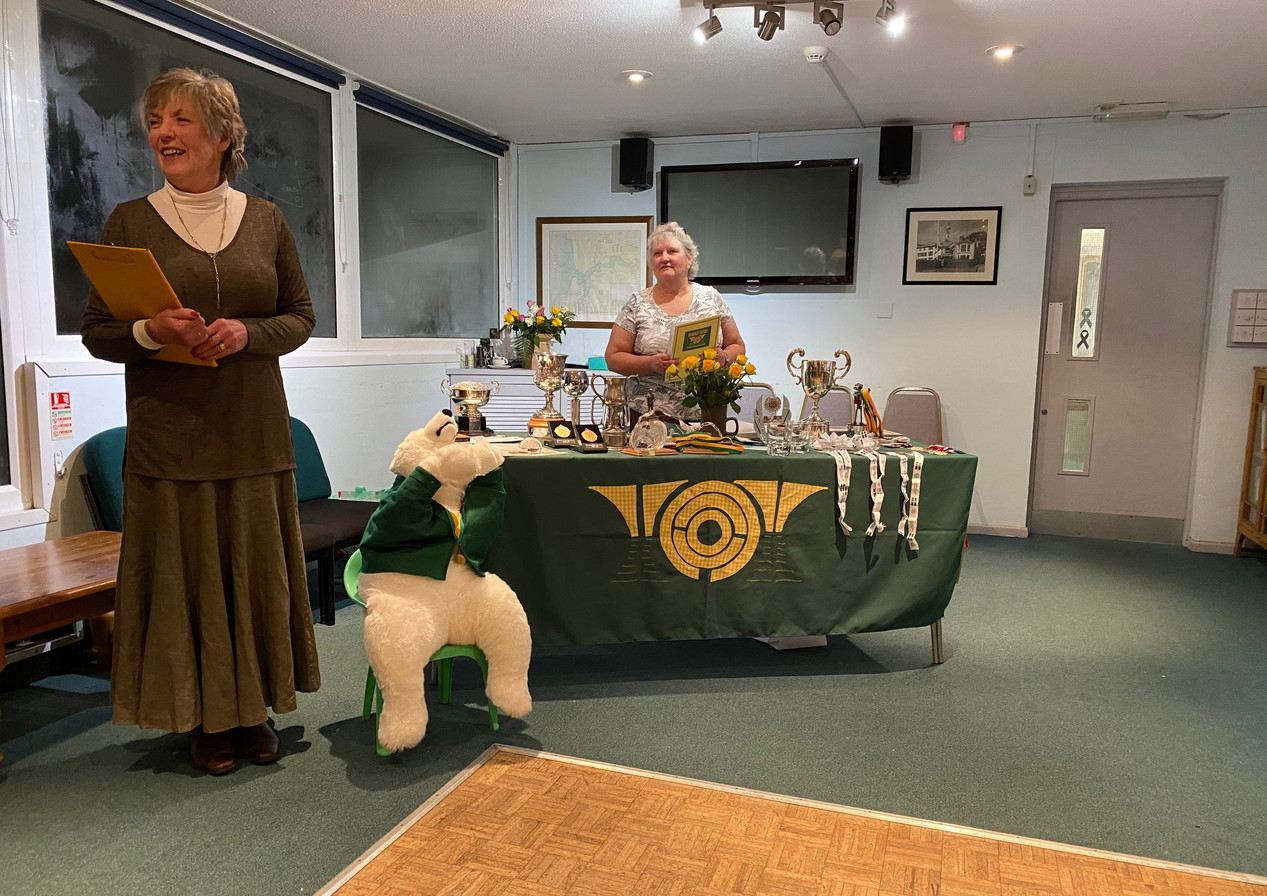 January 2020 Dinner and Prize Giving